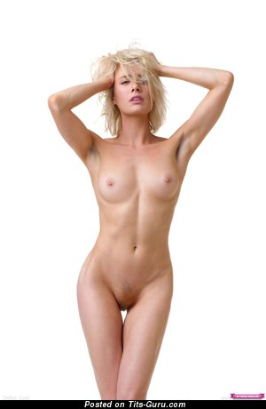 Image. Nude awesome lady with medium natural tittes picture