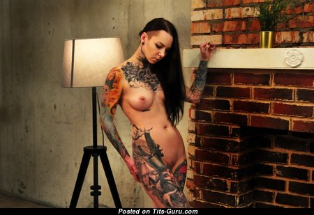 Дарья Смирнова - The Best Brunette with The Best Exposed Tight Knockers, Piercing & Tattoo (Hd Sexual Pix)