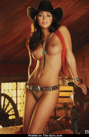 Image. Kylie Johnson - nude brunette with medium natural boobies pic