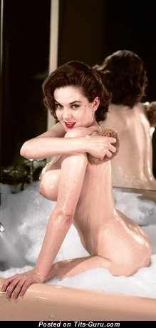 Colleen Farrington - Charming Wet American Playboy Brunette with Charming Nude Real Tight Knockers (Vintage Hd Sex Image)
