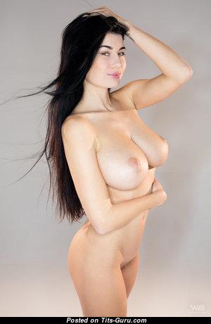 Lucy Li Aka Scarlett Lee - Beautiful Topless Brunette Pornstar with Beautiful Open Regular Jugs & Inverted Nipples (Hd Porn Pix)