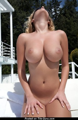 Image. Amateur naked hot woman with medium natural boobs image