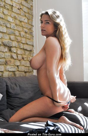 Image. Jess Kingham - nude blonde with big natural tots picture
