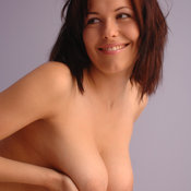 Iga Wyrwal - wonderful female with big natural boob photo