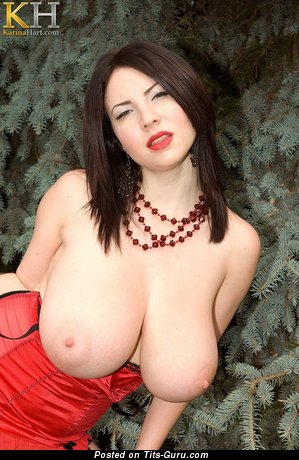 Image. Karina Hart - naked nice female with natural tits pic