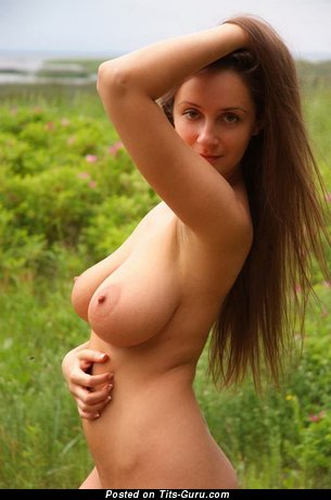 Perfect Chick with Perfect Nude Natural Full Boobys (Hd Sex Wallpaper)