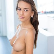 Janice Griffith - awesome lady with medium natural boob pic