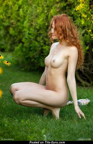 Heidi Romanova - Yummy Latvian Red Hair Pornstar with Yummy Bare Real The Smallest Busts (Hd Sex Pic)