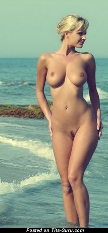 Image. Naked amazing female with medium tits image