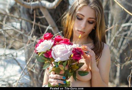 Ekaterina Sadkova - Elegant Babe with Elegant Nude C Size Melons (Hd Sexual Foto)