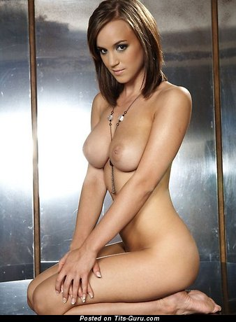 Image. Rosie Jones - nude brunette with big natural breast picture