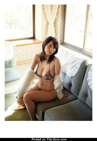 Asami Sakanoue - Graceful Asian Girl with Graceful Naked Real Big Sized Tittes (Hd Porn Photoshoot)