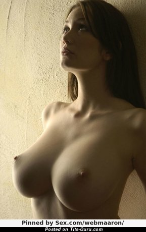 Image. Naked wonderful lady with big natural boob pic