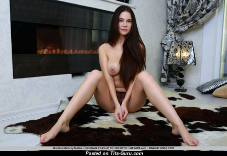 Martina Mink - Yummy Topless Babe with Yummy Defenseless Real Boobie (18+ Photoshoot)