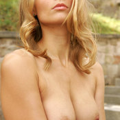 Blonde with medium breast image