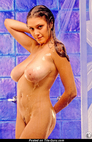 Miriam Gonzalez - Handsome Puerto Rican, American Playboy Girl with Handsome Bald Natural Full Boobs (18+ Photoshoot)