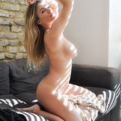 Jess Kingham - blonde with big natural boobies pic