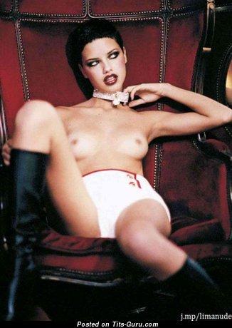 Adriana Lima - Charming Naked Brazilian Red Hair (Hd Porn Photoshoot)