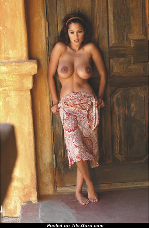 Elegant Glamour & Topless Brunette is Undressing (Sex Picture)