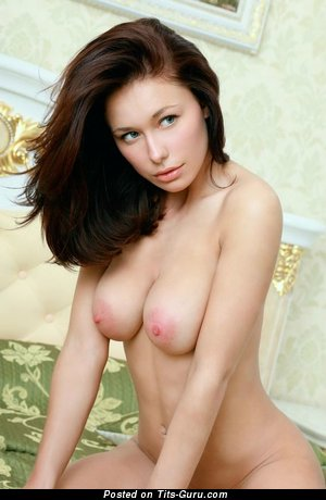 Nude hot female with medium natural tittys photo