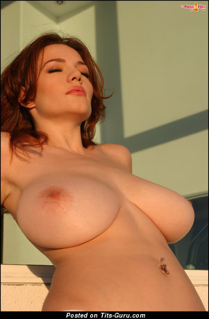 Danielle Riley - Charming British Chick with Charming Naked Natural Ddd Size Breasts (Hd Xxx Picture)
