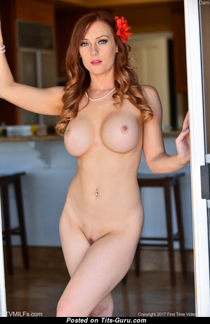 Dani Jensen - Nice Topless American Red Hair Pornstar with Nice Open Silicone Boobies (Hd Sexual Photoshoot)
