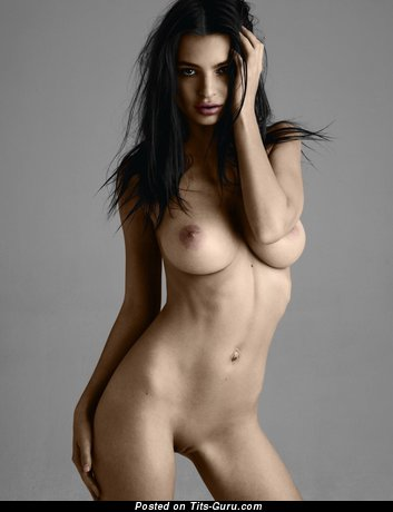 Image. Emily Ratajkowski - nice female with big natural breast picture