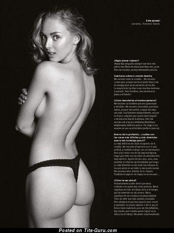 Marvelous Nude Blonde (Xxx Photoshoot)