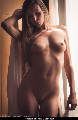Galina Fedorova - The Best Babe with The Best Naked Real Aa Size Chest (Hd Sexual Image)