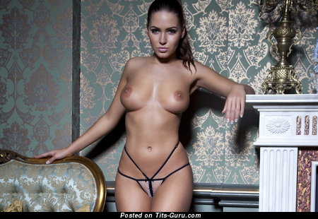 Image. Сабина Емельянова - brunette with big natural boobies picture