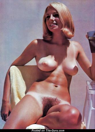 Naked awesome lady vintage