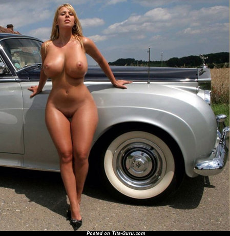 Image. Naked wonderful lady with big boobs photo