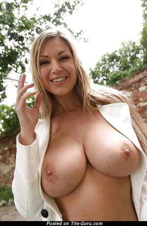 Nude hot woman with huge tits pic