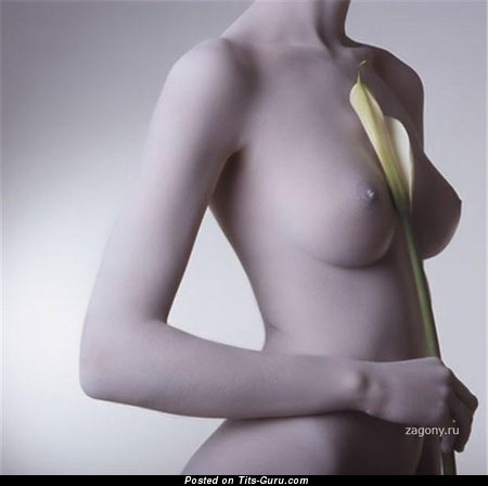 Image. Nude awesome female with medium tittys photo
