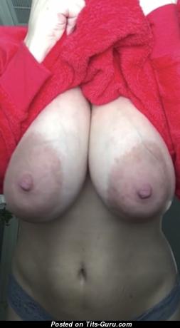 King Aura - Beautiful Female with Beautiful Nude Real Full Tits & Huge Nipples (Hd Sexual Pic)