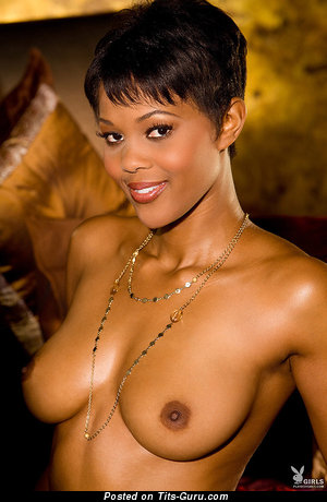 Image. Naked nice woman with medium natural boobies picture