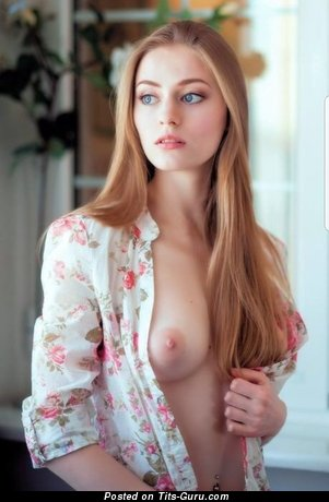 Sexy nude red hair image