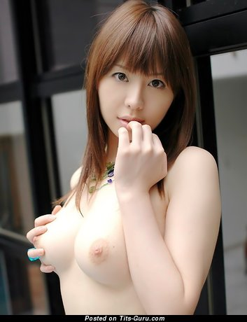 Image. Nude asian red hair with medium natural boob image