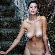 Delightful Babe with Delightful Open Natural Medium Titty (Sex Picture)