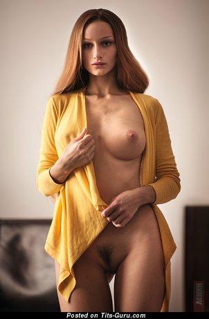 Изображение. Ksyusha Kleopova - изображение сексуальной обнажённой рыжей