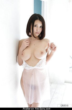 Alluring Topless Asian Babe with Alluring Exposed Tight Titty (Sexual Picture)