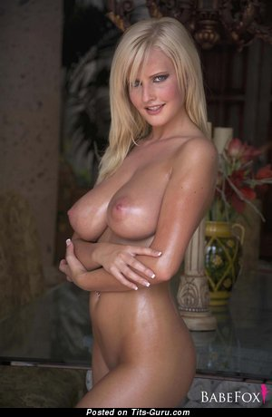 Image. Nude blonde with big boobies picture