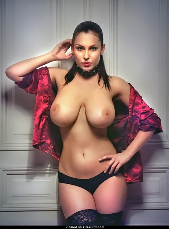 Dagmara Bajura - Red Hair Babe With Open Real Ddd Size Tit -5614