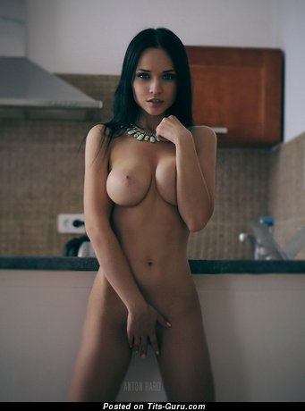 Image. Beautiful female with big natural boob image