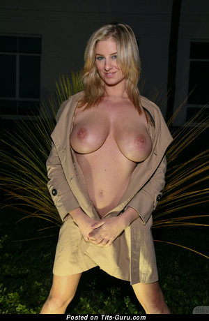 Image. Jenny Mcclain - naked blonde with big natural boob image