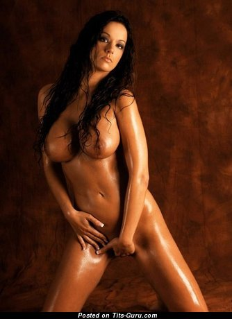 Image. Nude brunette with big tittes picture