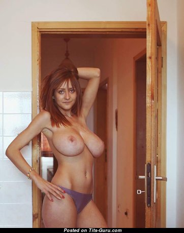 Gabriela Baeva - Lovely Topless Honey with Lovely Nude Real Great Titty (Sexual Pic)
