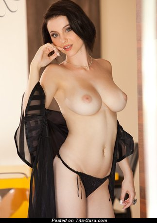 Awesome Doll with Awesome Naked Natural Dd Size Boobs (Hd Sexual Image)