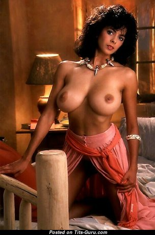 Roberta Vasquez - Exquisite Topless American Playboy Brunette Babe with Exquisite Naked Real Average Tittes is Undressing (Xxx Picture)