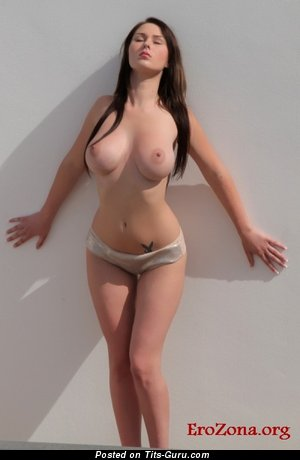 Image. Amazing girl with natural boobies pic
